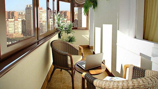 Недорогая отделка балконов внутренняя